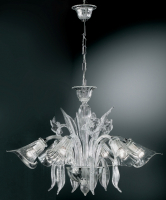Люстра Vetri Lamp 302/6 Cristallo