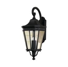 Уличный настенный светильник Feiss Cotswold Lane FE/COTSLN2/L BK