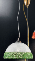 Подвесной светильник Vetri Lamp 1158/25 Cristallo/Verde