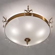 Потолочный светильник Masiero Classica Primadonna PL3 G01 Cut crystal