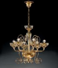 Люстра Vetri Lamp 971/6 Ambrato