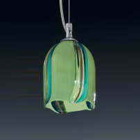 Подвесной светильник Voltolina JACARANDA Sosp. pendel acciaio PISTACCHIO
