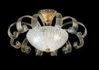 Потолочный светильник Vetri Lamp 996/55 Cristallo/Oro