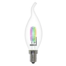 Лампа галогенная (01091) E14 42W радужная HCL-42/RB/E14 flame