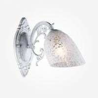 Бра Eurosvet Нимфа 70039/1 белый с серебром