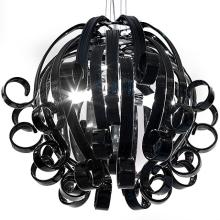 Подвесной светильник Voltolina Medusa 4L NERO cromo