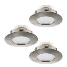 Встраиваемый светодиодный светильник Eglo Pineda 95823