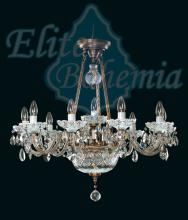 Люстра Elite Bohemia Metal varieties L 689/10+2/02 Pt