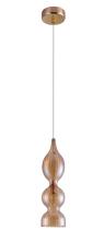 Подвесной светильник Crystal Lux Iris SP1 B Amber