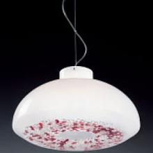 Подвесной светильник Voltolina Reflex 45 cristallo-rosso