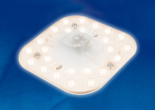 Настенный светодиодный светильник (UL-00002770) Uniel ULZ-P10-7W/SPFR IP40