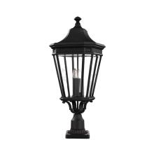 Садово-парковый фонарь Feiss Cotswold Lane FE/COTSLN3/L BK