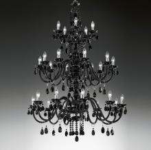 Большая люстра Masiero Classica Milord 10+10+5 VV Black / ORG/12/BK