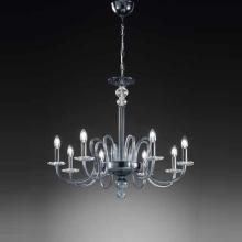 Люстра Vetri Lamp 1202/8 Grigio/Cristallo