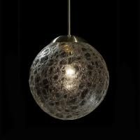 Подвесной светильник GLASSBURG GLOBUS crackle