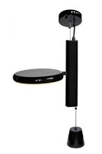 Светильник подвесной черный 21BL-E01B